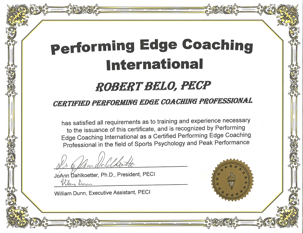 Coach Earns Peci Certification Grassroots Athletics
