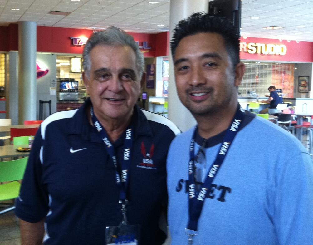 Coach Belo Attends USATF/ IAAF Academy